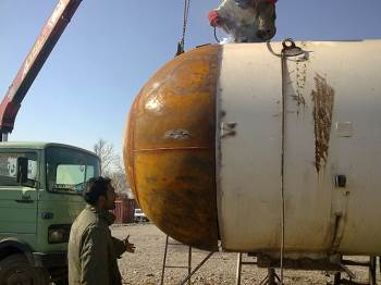Repair and Service of LPG and Ammonia Vessel