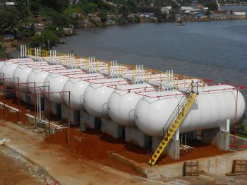 Design and construction for LPG installation
